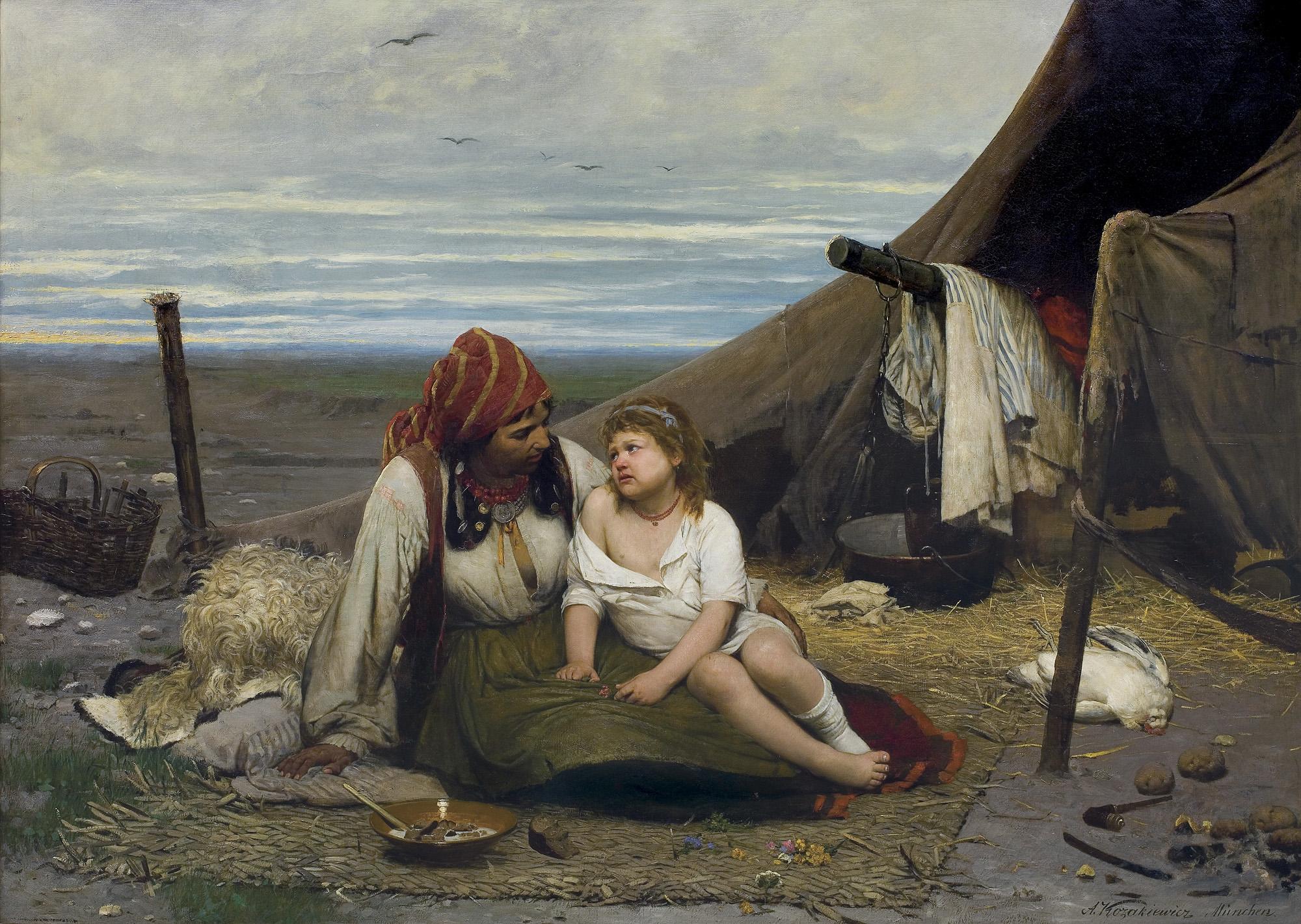 WYKRADZIONA, przed 1886
