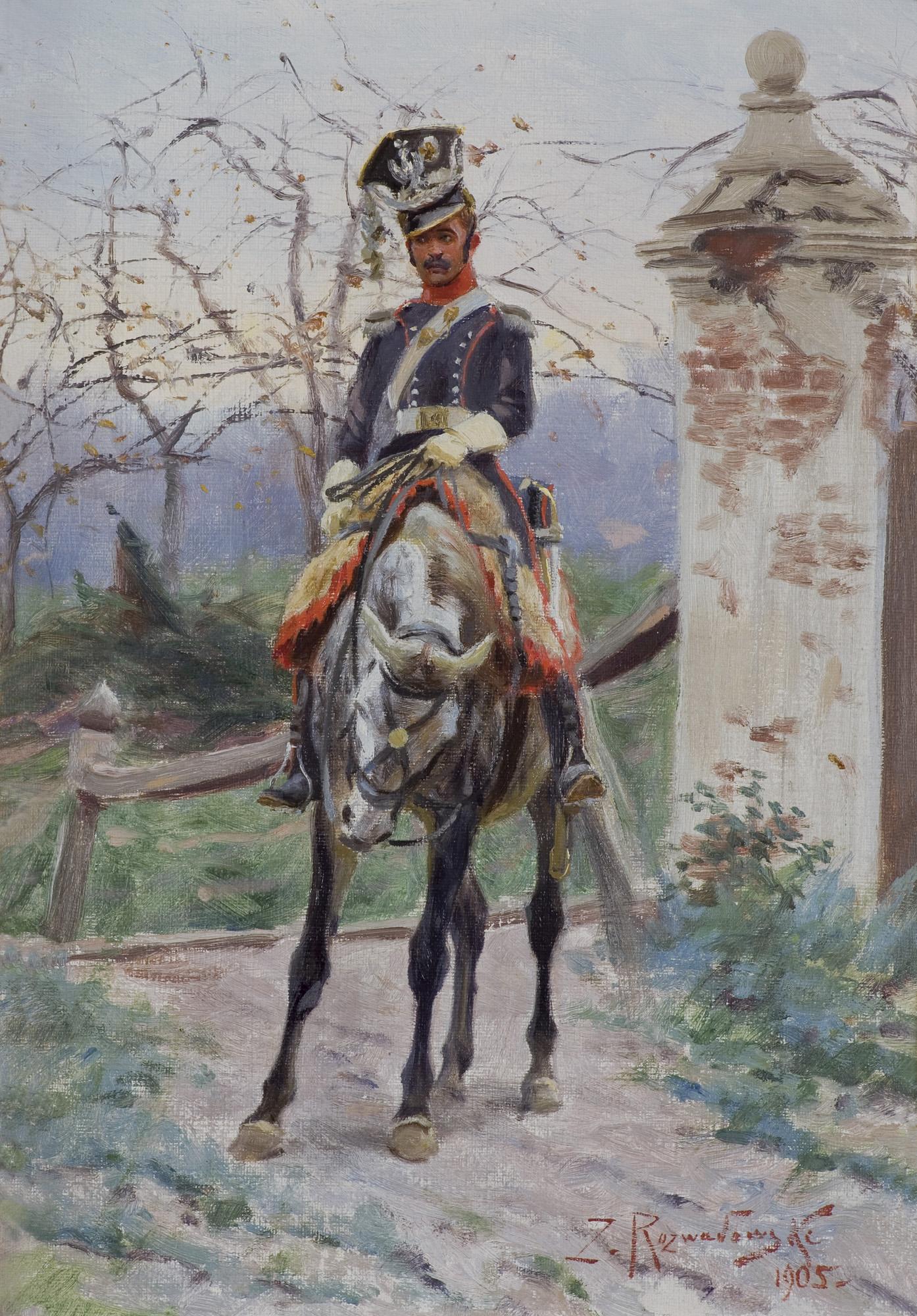 UŁAN KSIĘSTWA WARSZAWSKIEGO, 1905