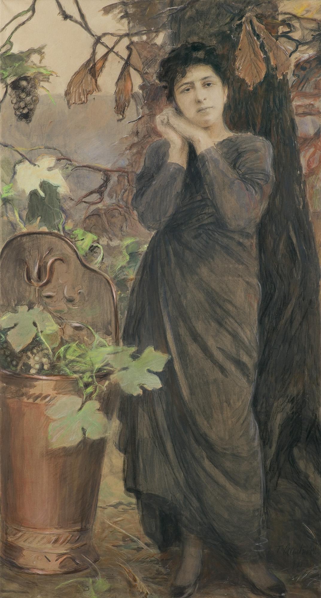 PORTRET JESIENNY, 1911