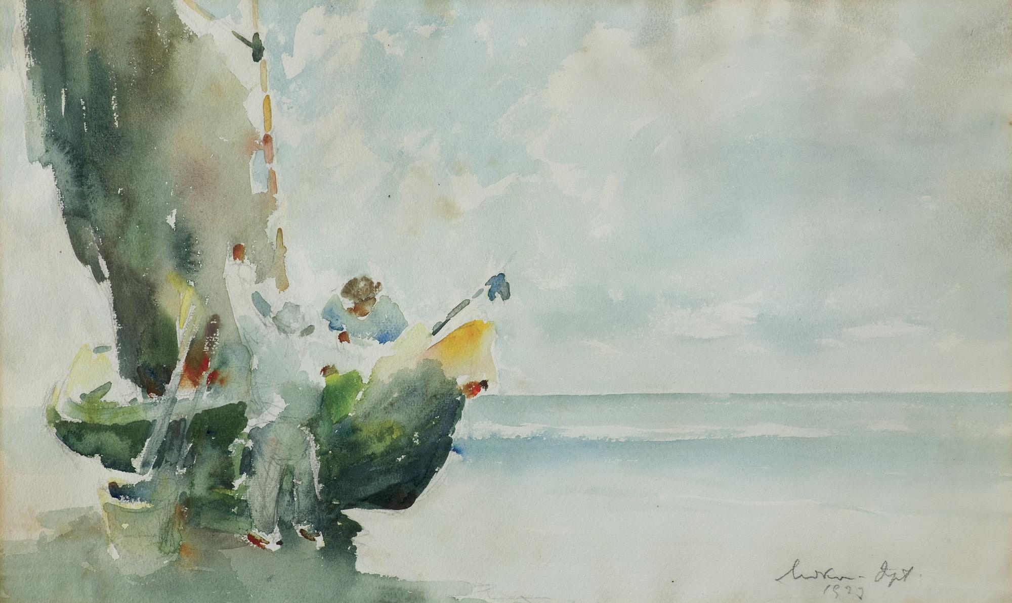 POWRÓT Z POŁOWU, 1927