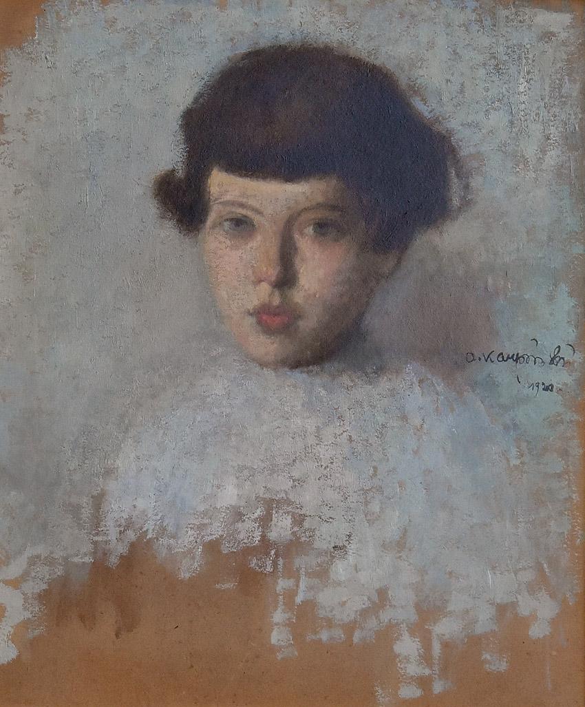 """""""Portret dziewczynki"""", 1920"""