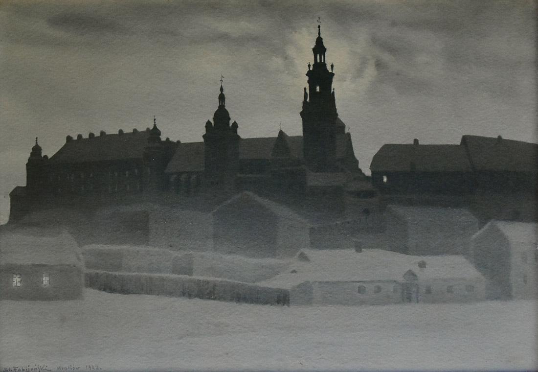 """""""Widok na Wawel"""", 1922"""