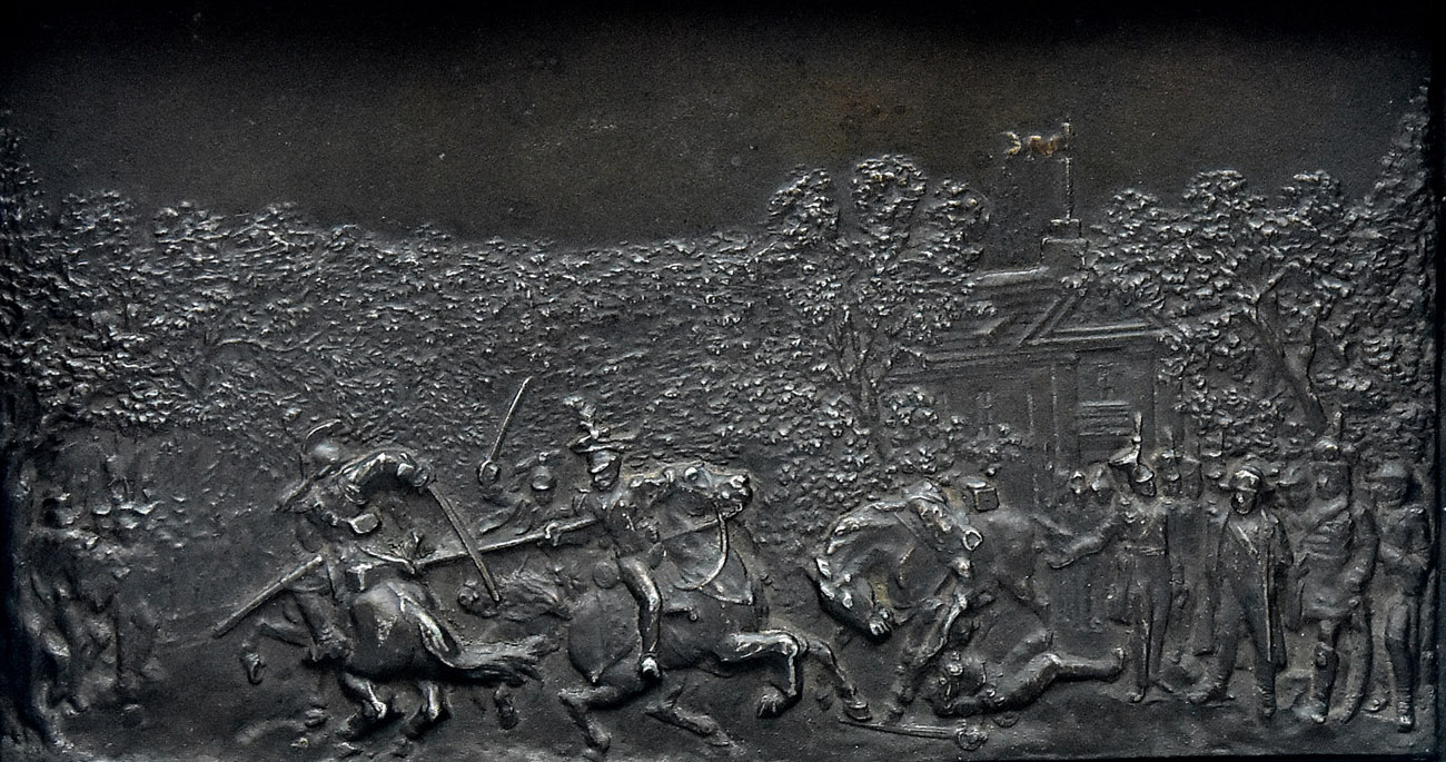 """""""Próba lancy przed Napoleonem w Schönbrunnie w 1809"""""""