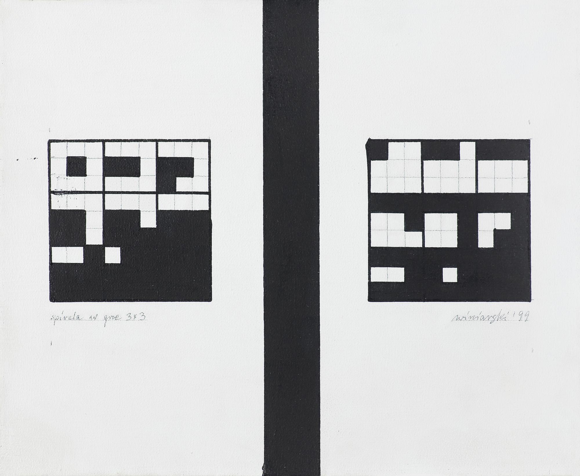 SPIRALA W GRZE 3 x 3, 1999