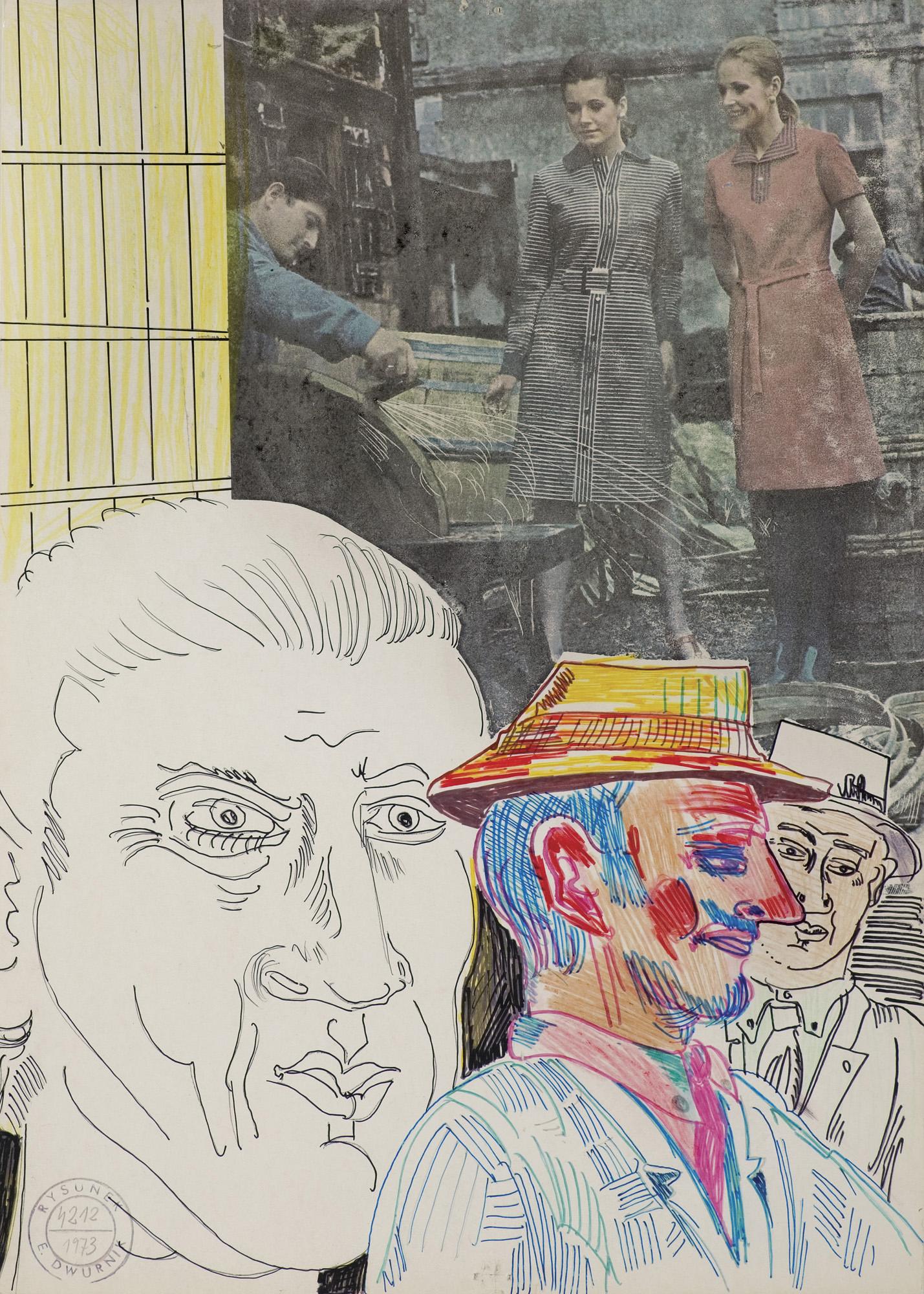 """DOBRZY FACHOWCY, z cyklu """"MOI BOHATEROWIE"""", 1973"""
