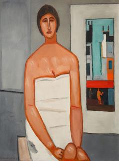 Kobieta we wnętrzu, 1964