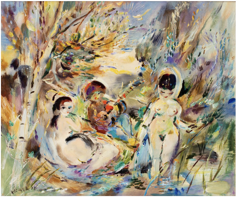 Artysta i muzy, 1972 r.