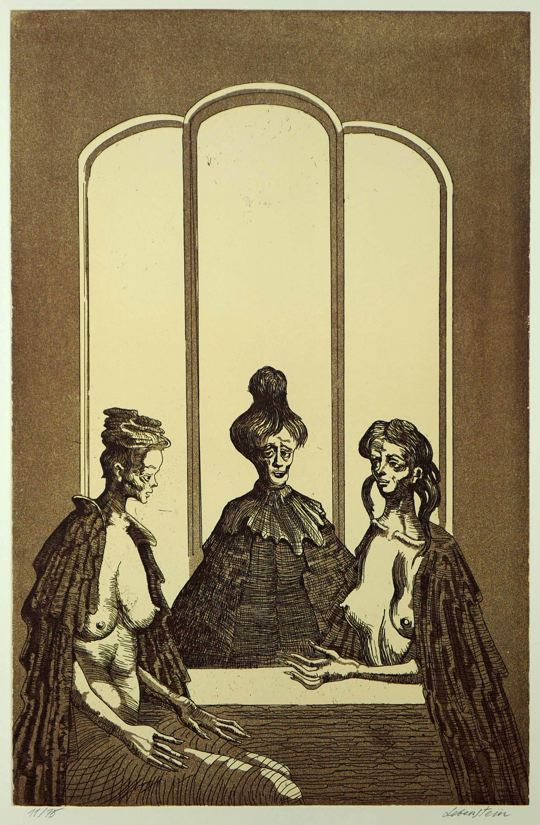 Trzy kobiety przy stole