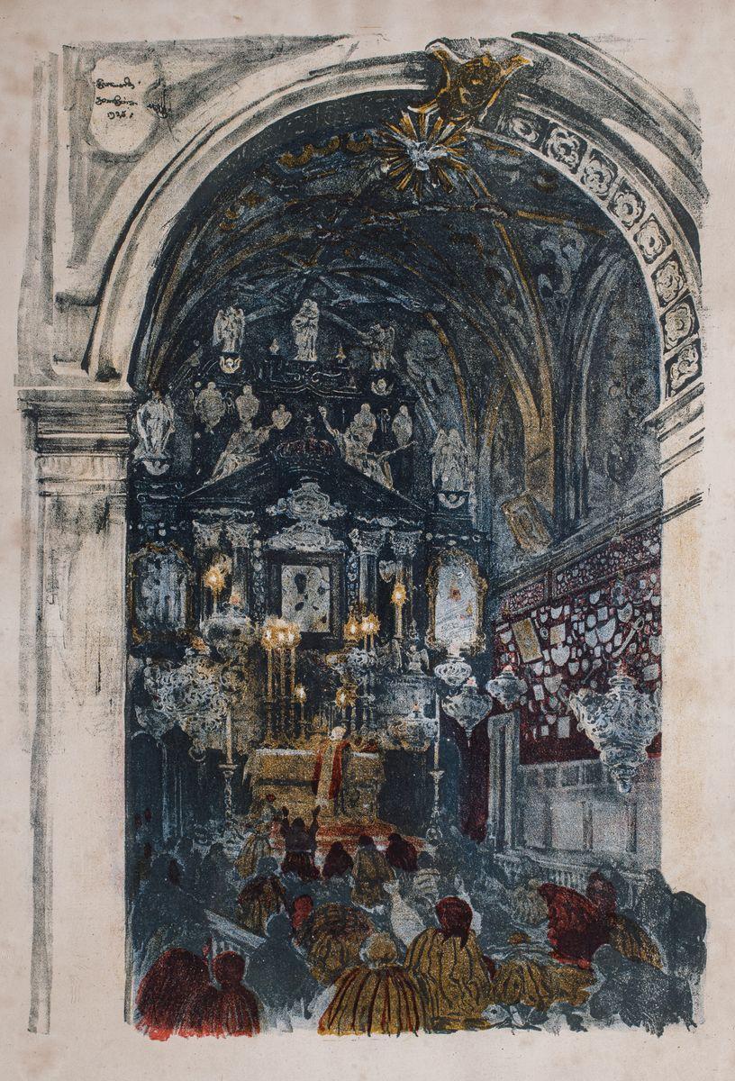 KAPLICA MATKI BOŻEJ CZĘSTOCHOWSKIEJ NA JASNEJ GÓRZE, 1925