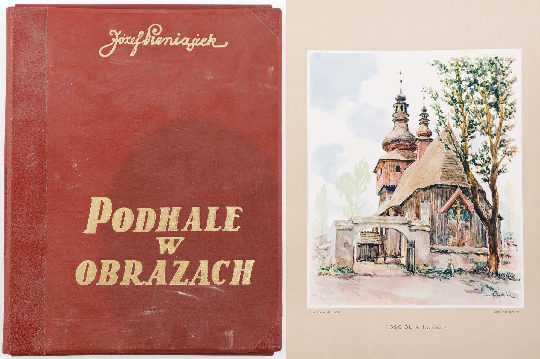 Teka, PODHALE W OBRAZACH, Lwów, 1937
