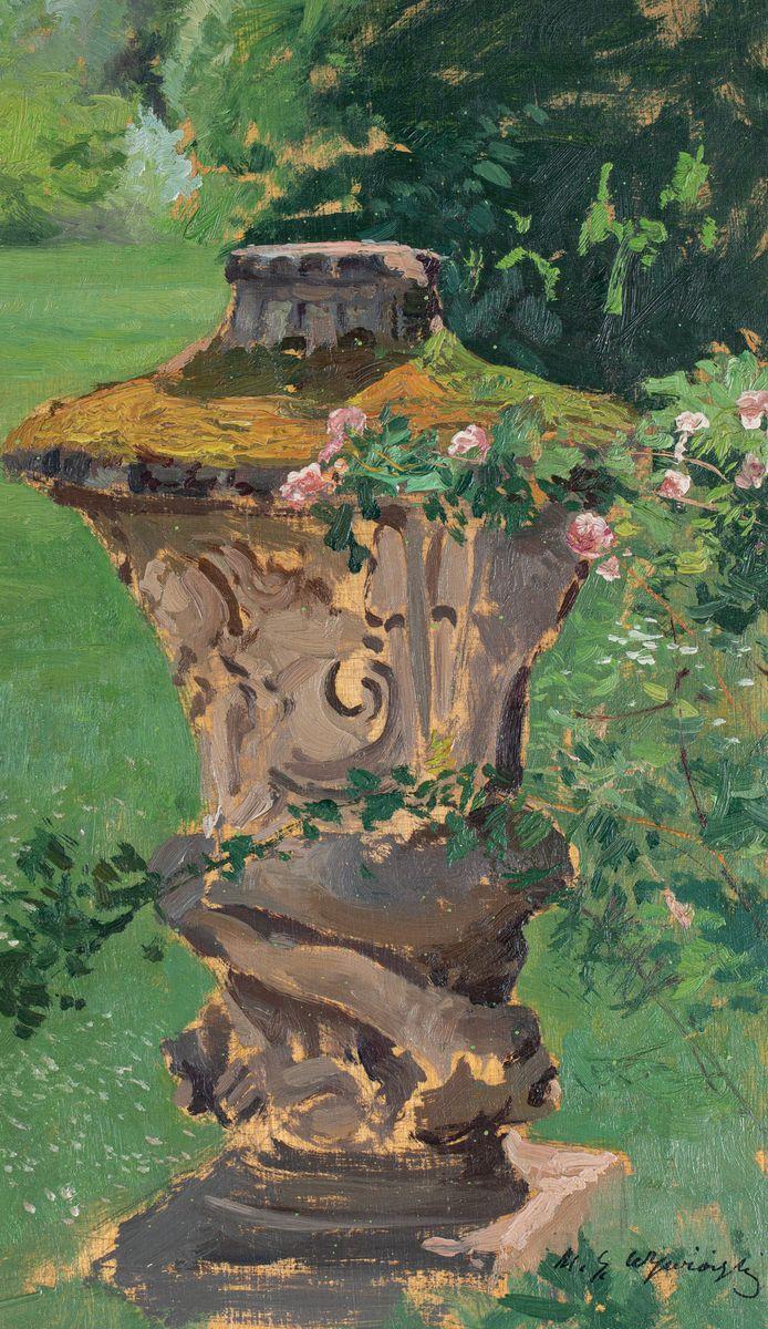 RZEŹBA W PARKU, 1904-1914
