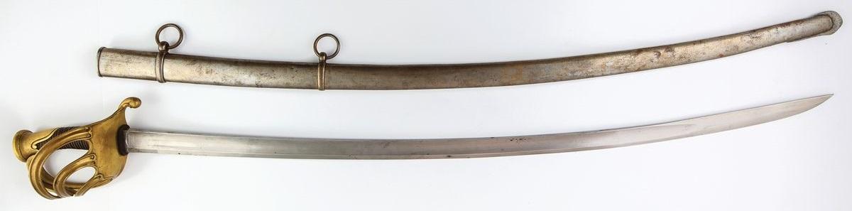 SZABLA OFICERA GRENADIERÓW FRANCUSKICH, M 1822