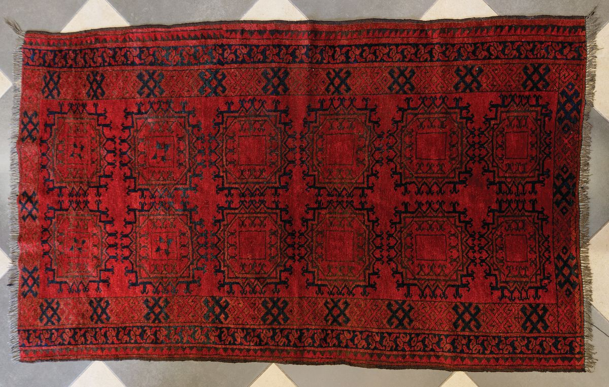 KOBIERZEC ERSARI, Turkiestan, poł. XX w.