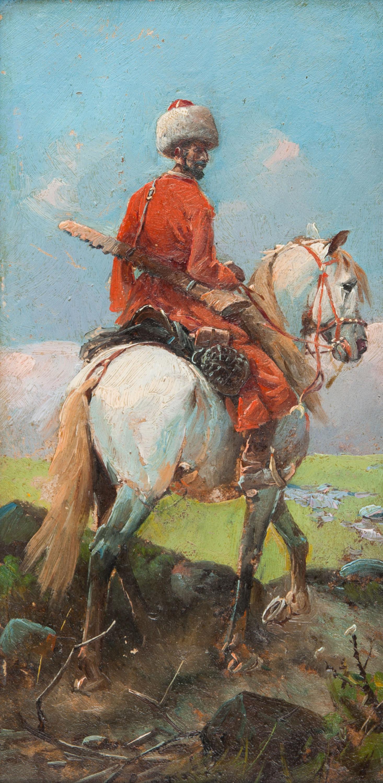 Malarz nieokreślony - w typie Franza Roubaud (XIX / XX w.)