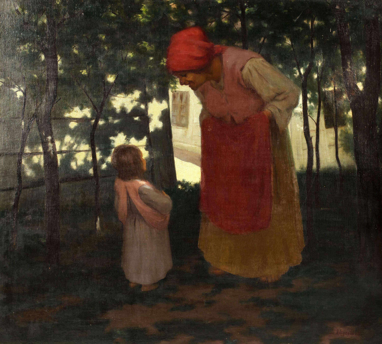 W zaciszu wiejskiem, 1912 r.