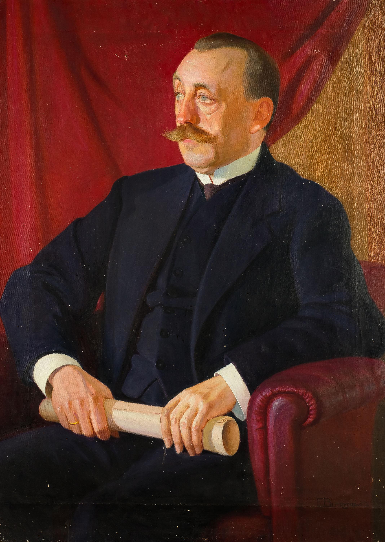 Portret Felicjana Otockiego (1870-1931), ok. 1930 r.