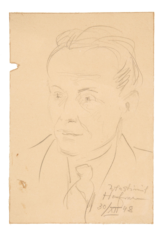 Portret adwokata, 1948 r.