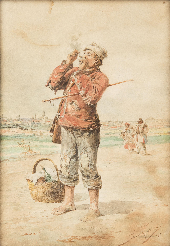 Z poczty, 1893 r.