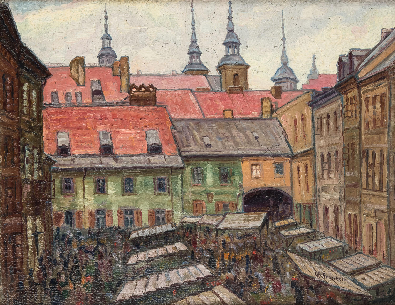 Szeroki Dunaj na Starym Mieście w Warszawie