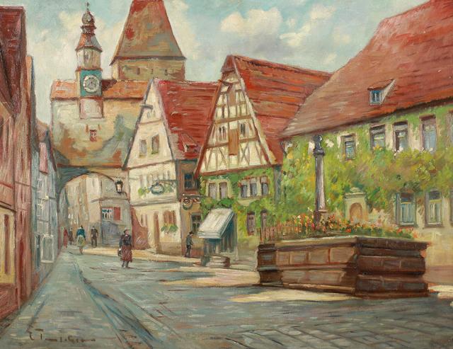 Wieża Marcusa w Rothenburgu