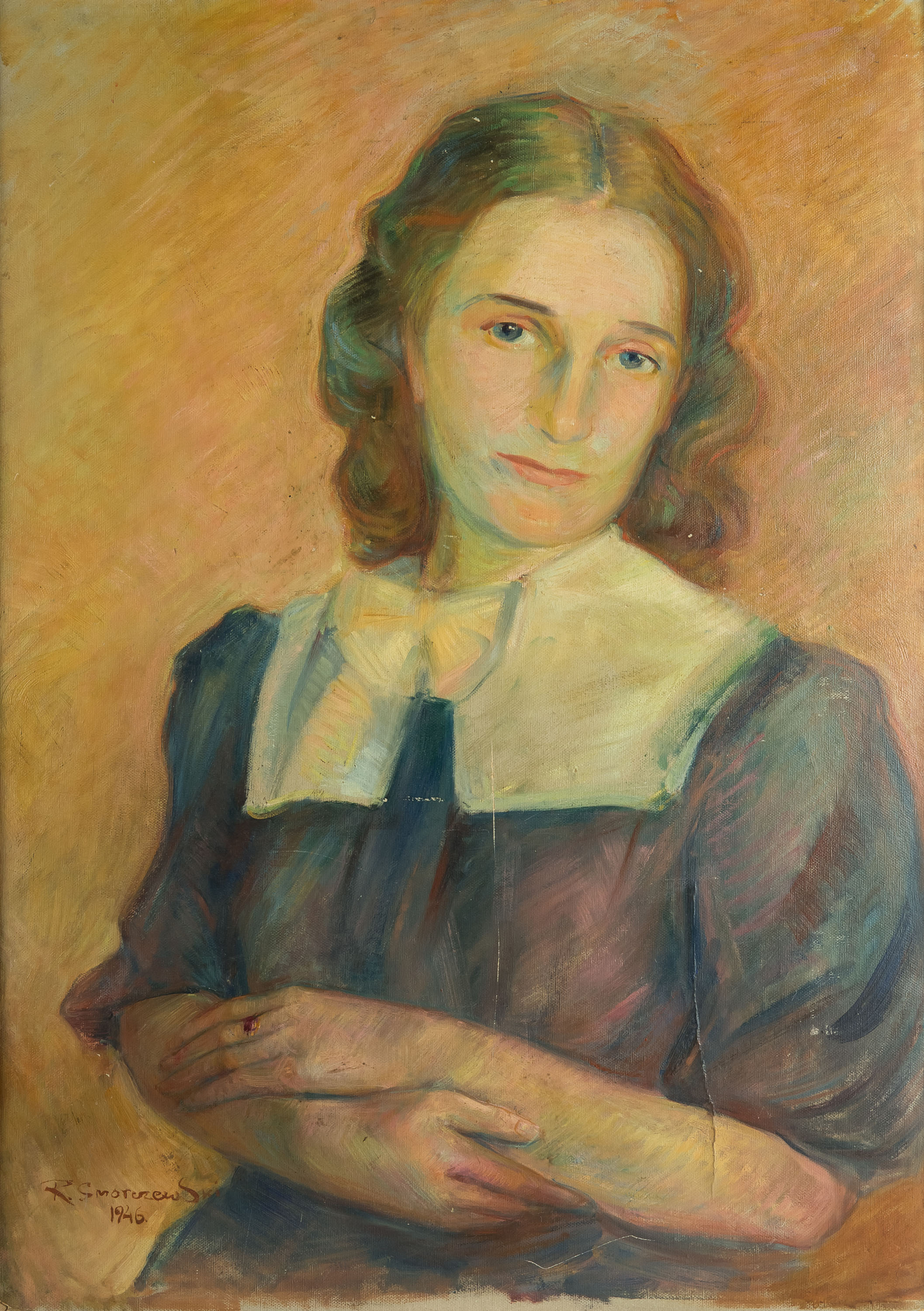 Portret siostry artysty, 1946 r.