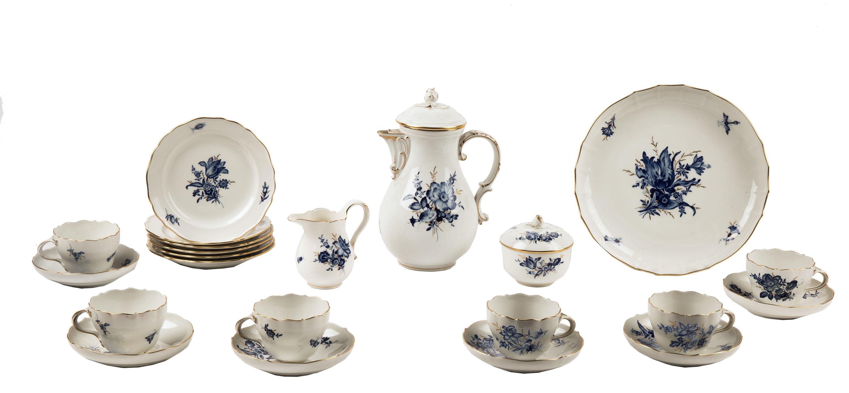 Serwis herbaciany na 6 osób, Miśnia, po 1934 r.