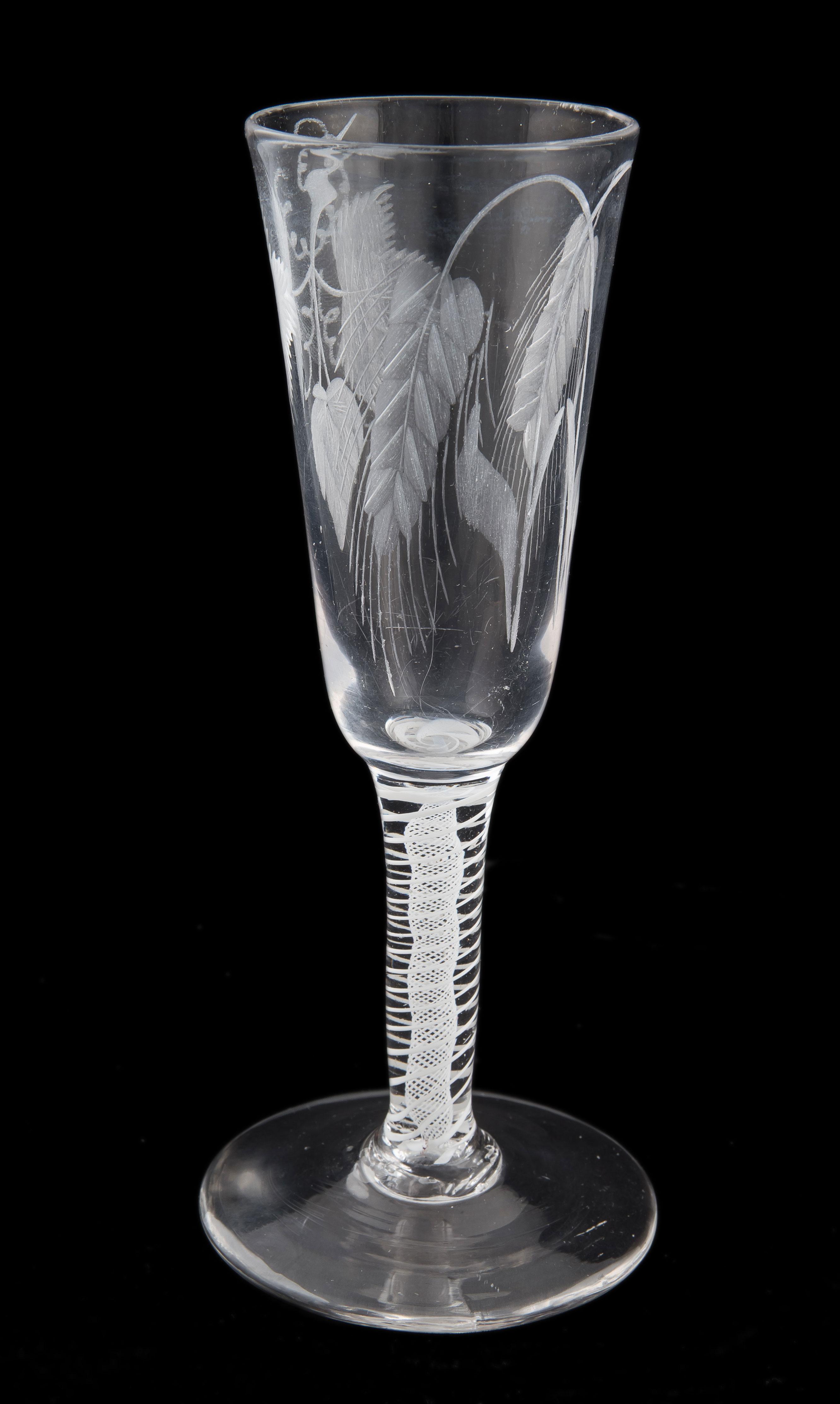 Kieliszek do piwa typu Ale, Anglia, ok. 1760-1780 r.