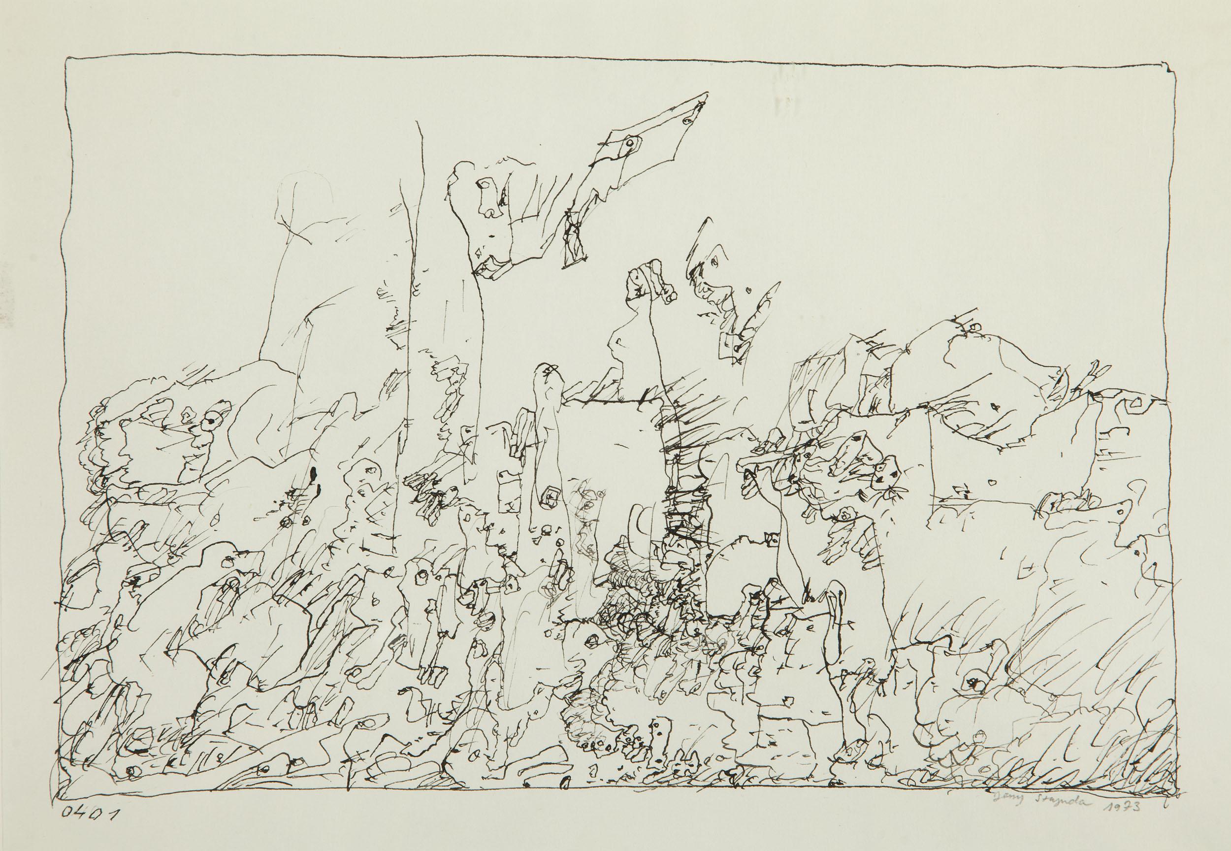 """""""Kompozycja 0401"""", 1973"""
