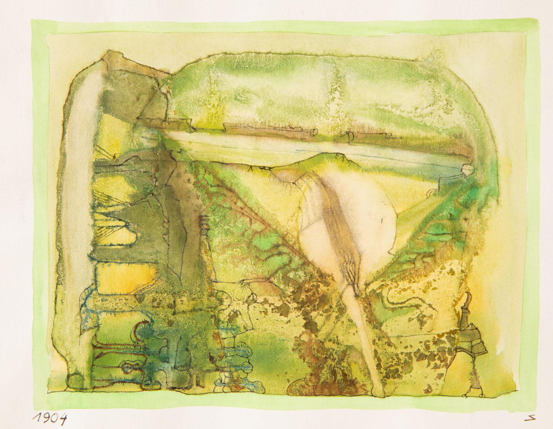 Bez tytułu (kompozycja zielona), około 1965