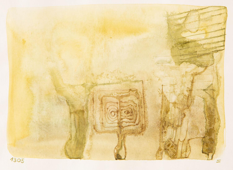 Bez tytułu (kompozycja żółta), około 1965