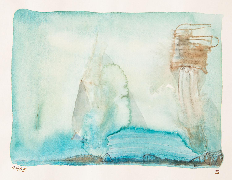 Bez tytułu (kompozycja błękitna), około 1965