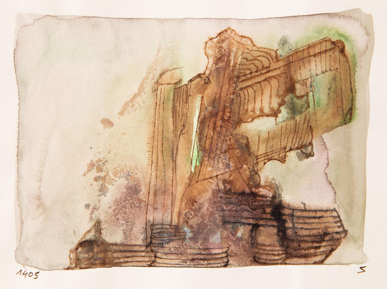 Bez tytułu (kompozycja brązowo-szara), około 1965