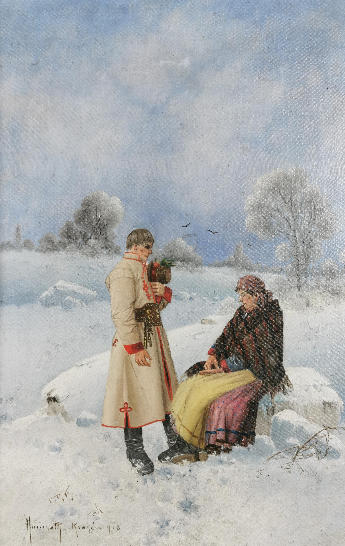 Wieśniacy, 1908