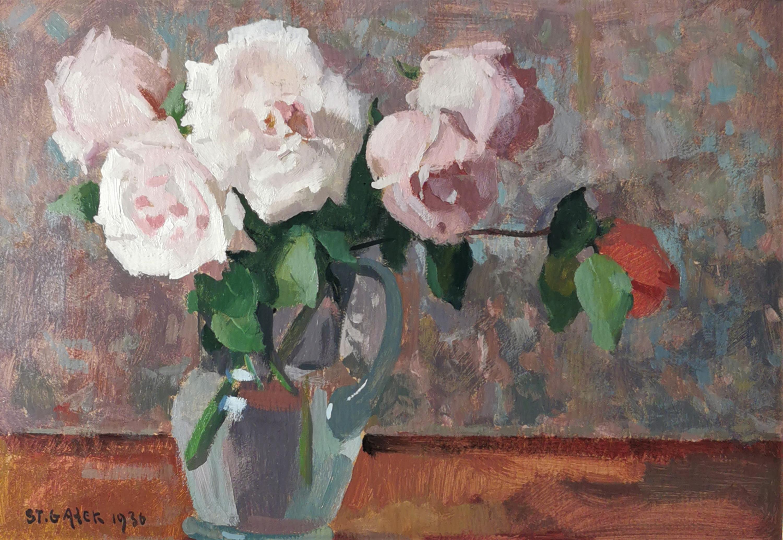Róże w wazonie, 1936