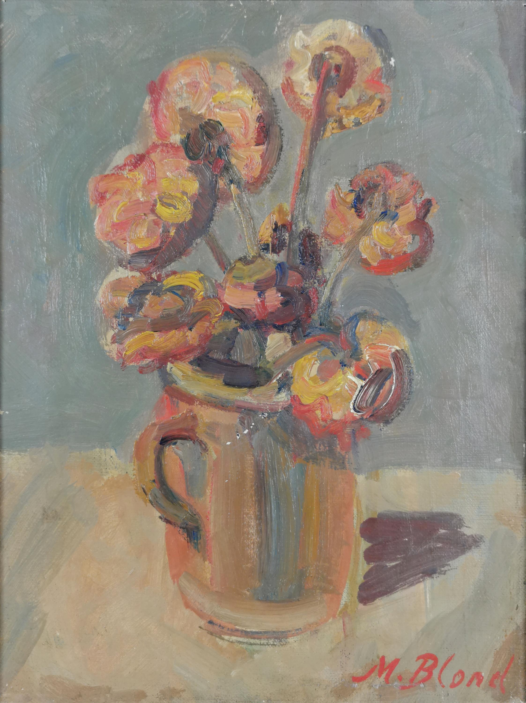Kwiaty w dzbanie