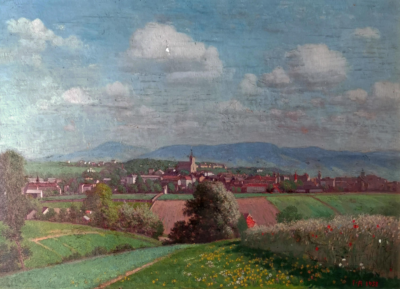 Panorama Cieszyna, 1933