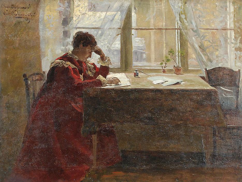 W domowym zaciszu, 1896