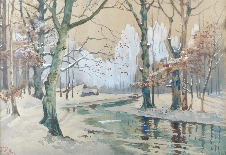 Zima, 1924