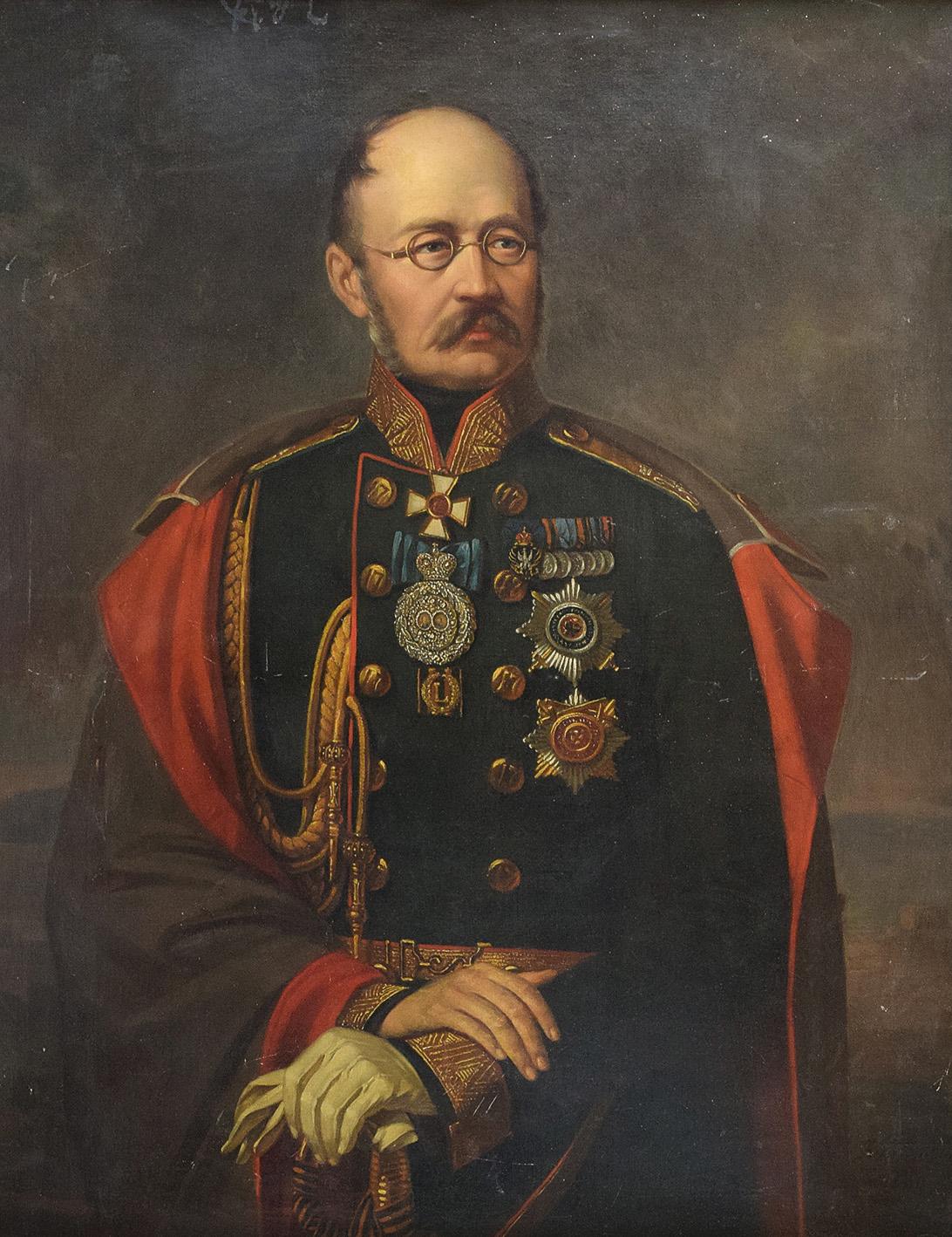 Portret oficera carskiego