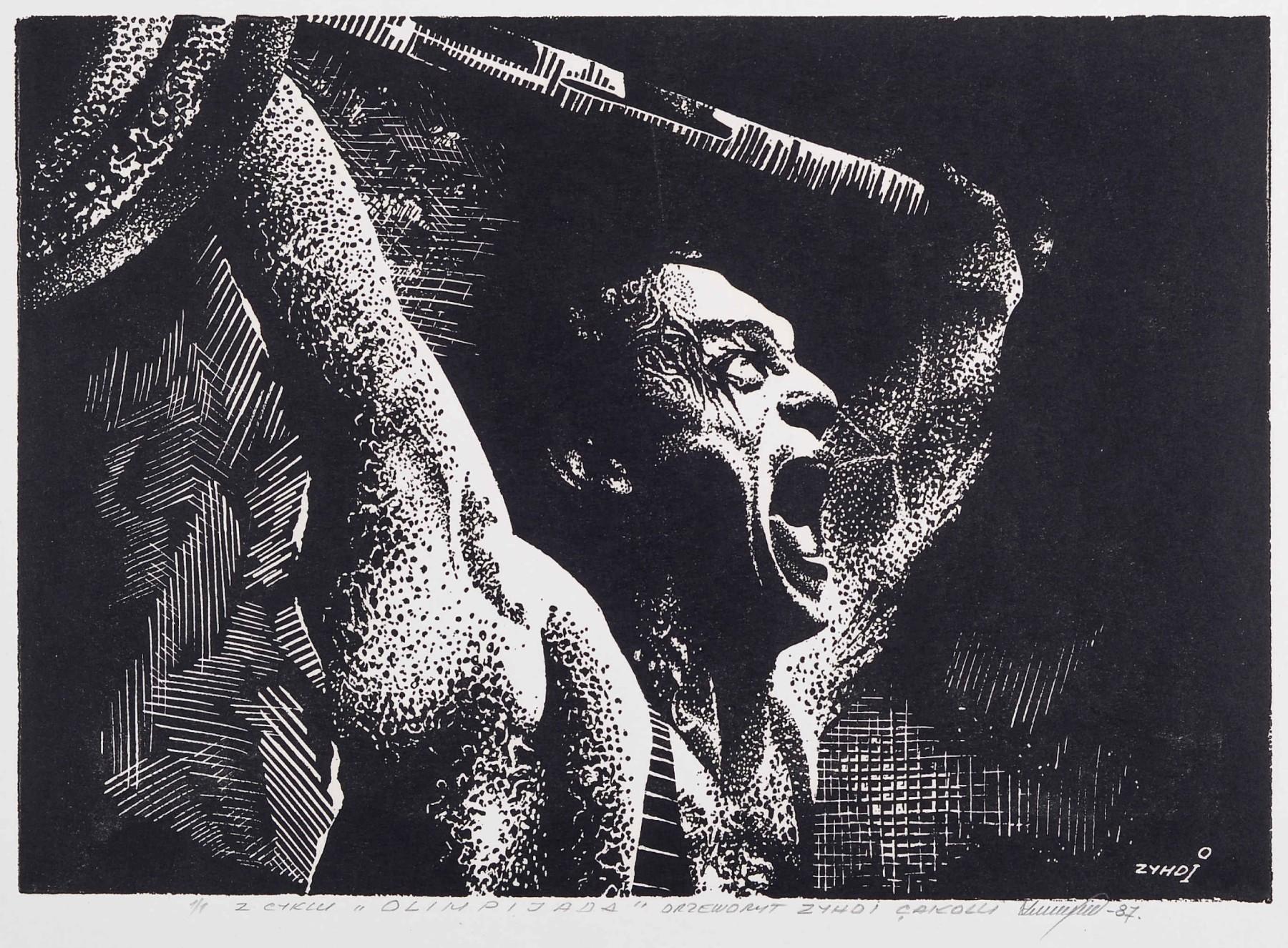 """Z cyklu """"OLIMPIJADA"""" , 1987"""
