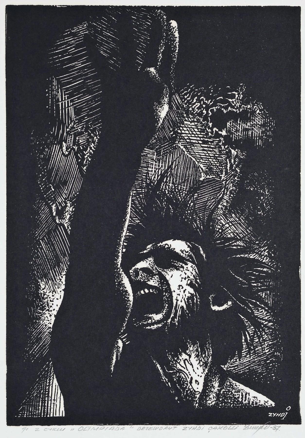 """Z cyklu """"OLIMPIADA"""", 1987"""