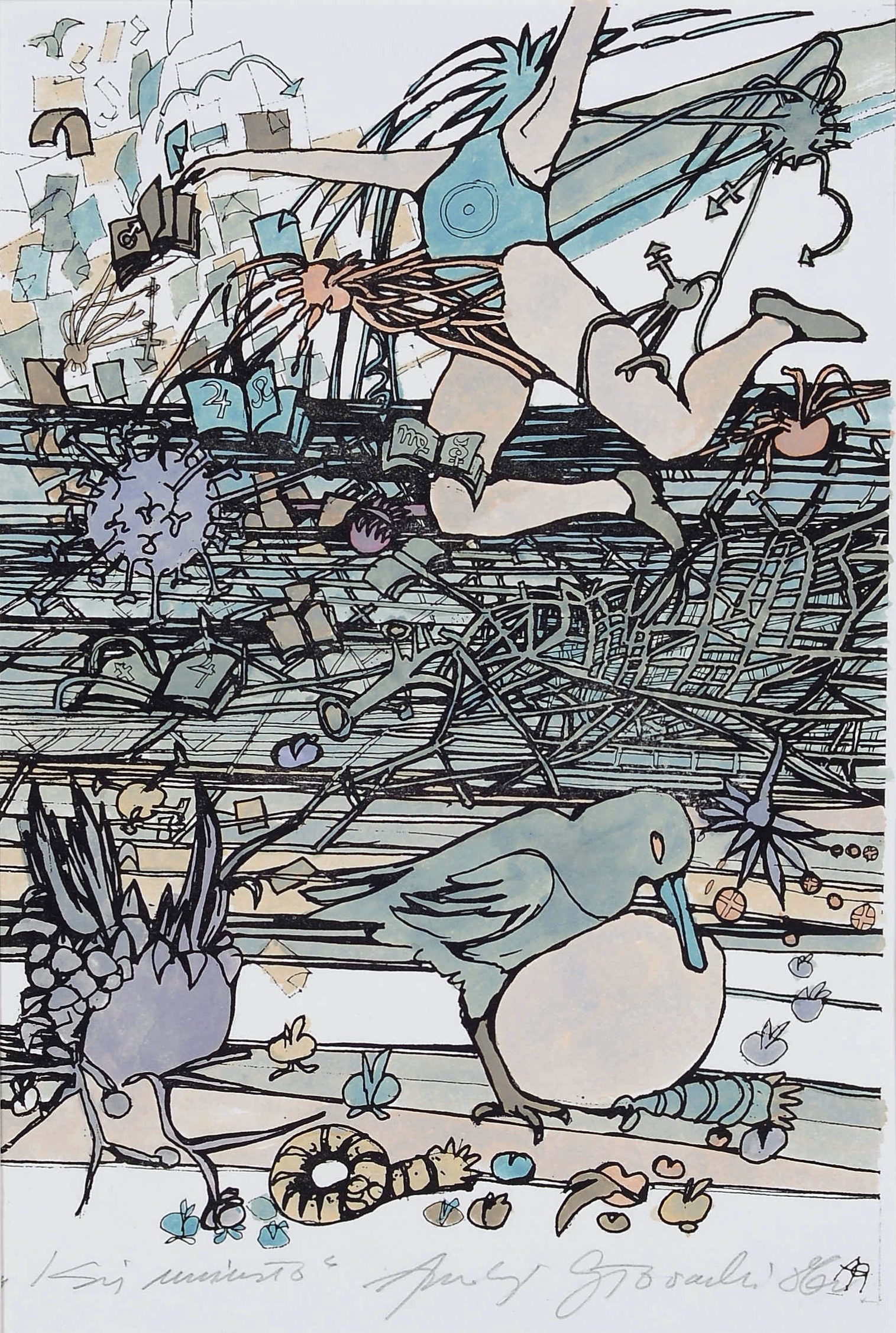 """Z cyklu """"ecstasies"""", (tytuł nieczytelny), 1986"""