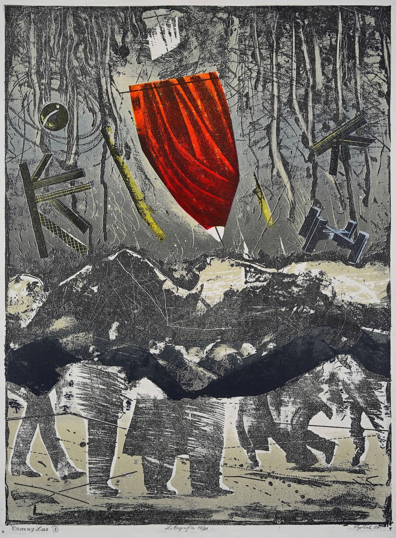 Czarny Las, 1987