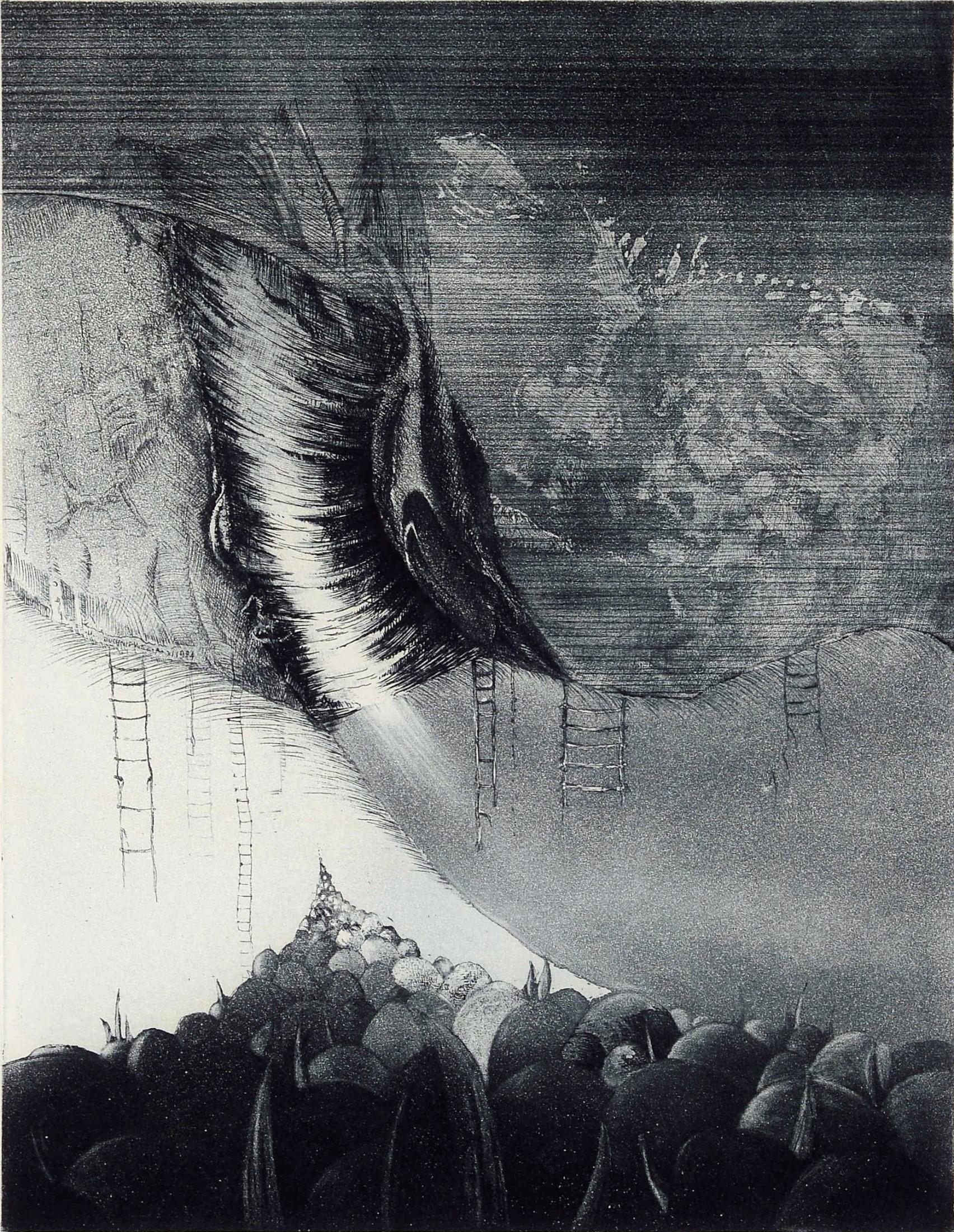 Face of mountain, 1984