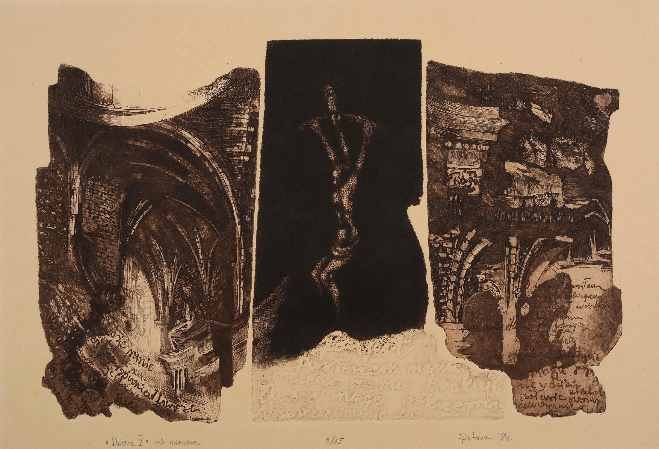 Wnętrze V, 1984