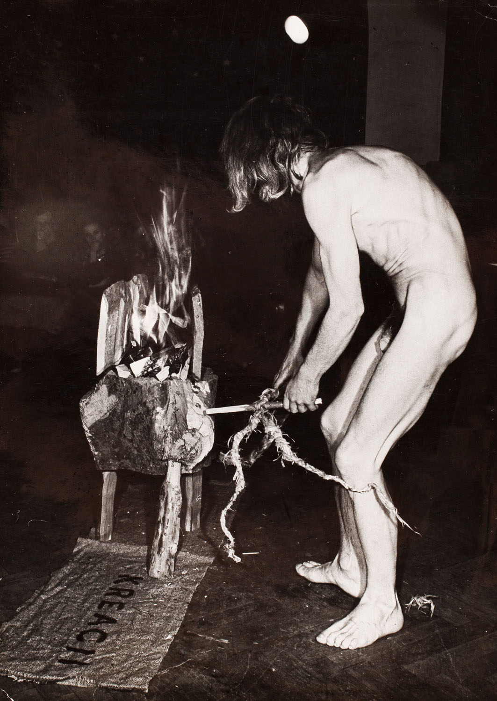 Msza artystyczna. Ołtarz kreacji, fot. Adam Rzepa, 1977
