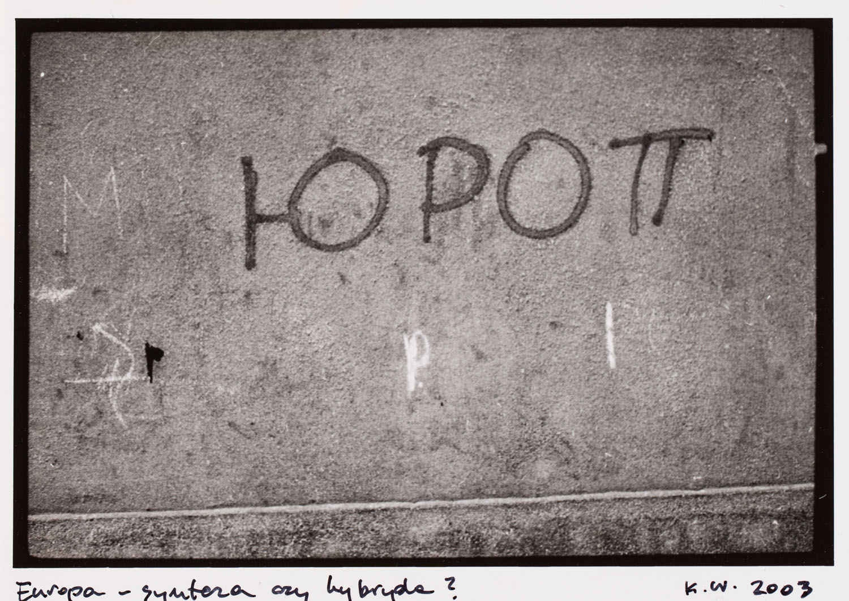 """Europa - synteza czy hybryda?"", 2003"