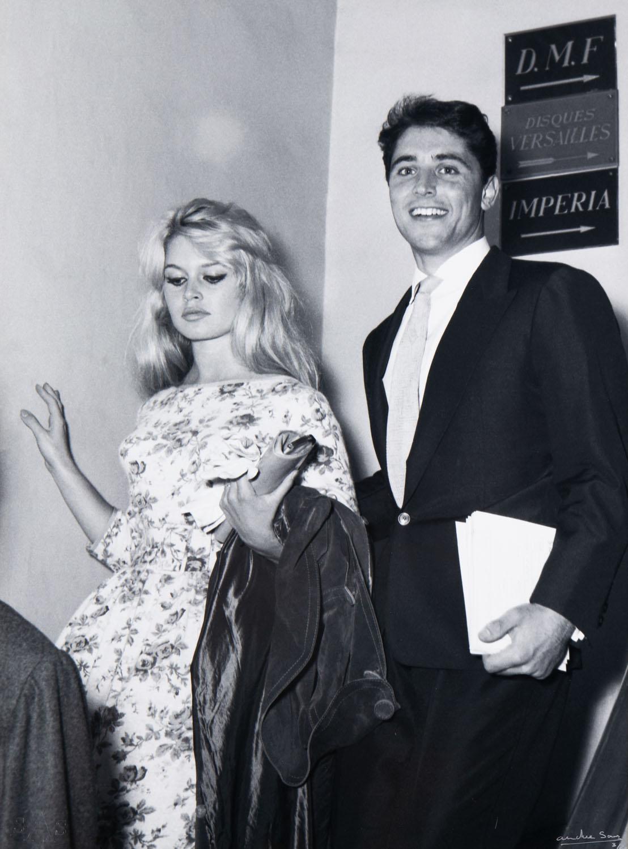 Brigitte Bardot i Sacha Distel