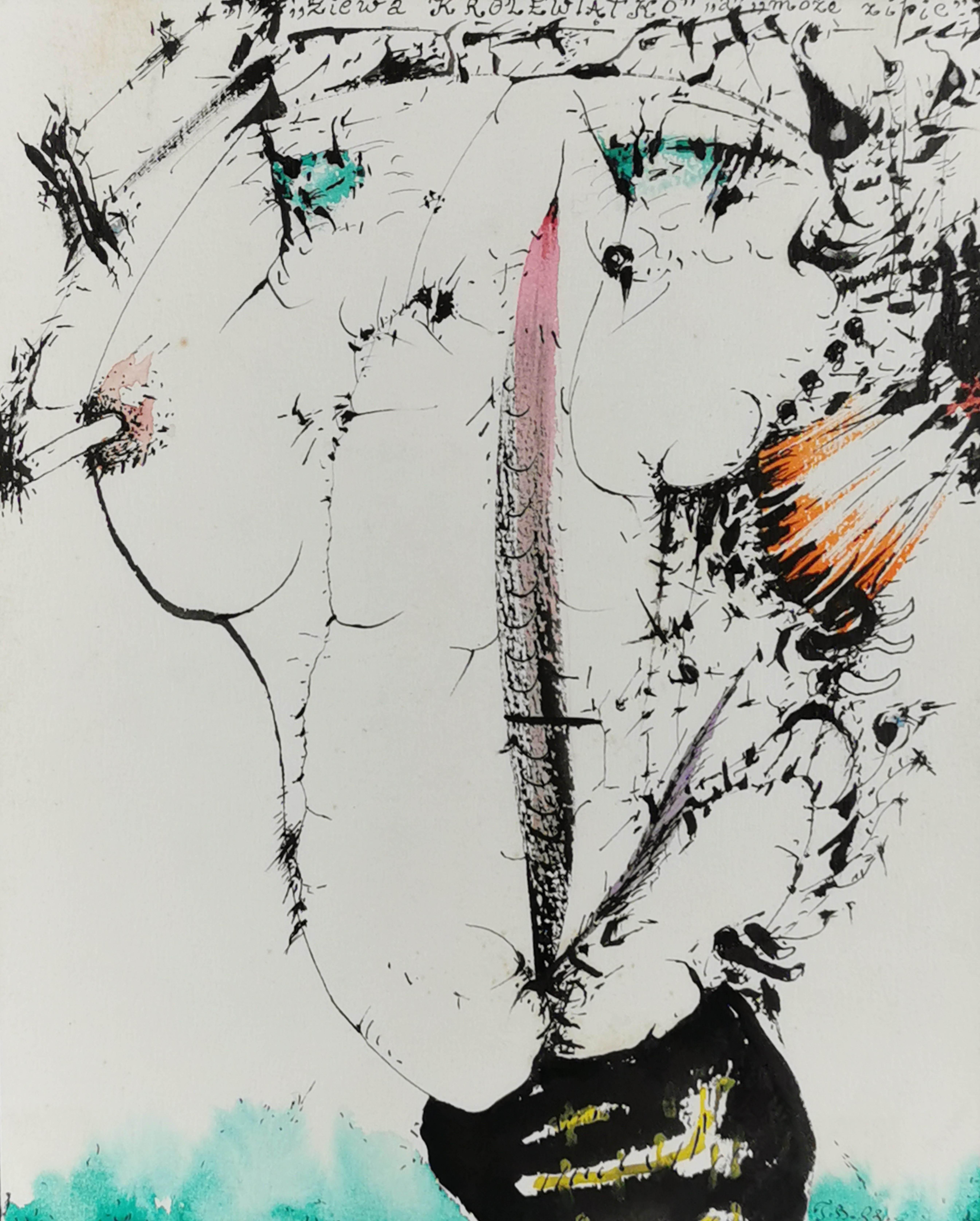 Ziewa królewiątko, a może zipie, 1983