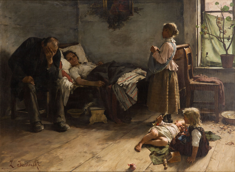 """Chora matka"", 1889"